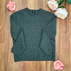 Heathered and Textured H&M Sweater
